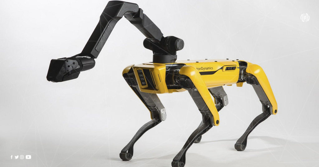 Boston Dynamics, Robot,, Noruega,