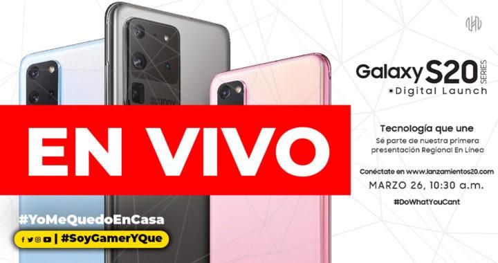 EN VIVO | Lanzamiento Oficial del nuevo Samsung Galaxy S20