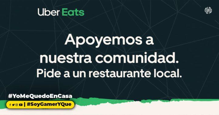 Uber Eats anuncia medidas de apoyo a restaurantes locales