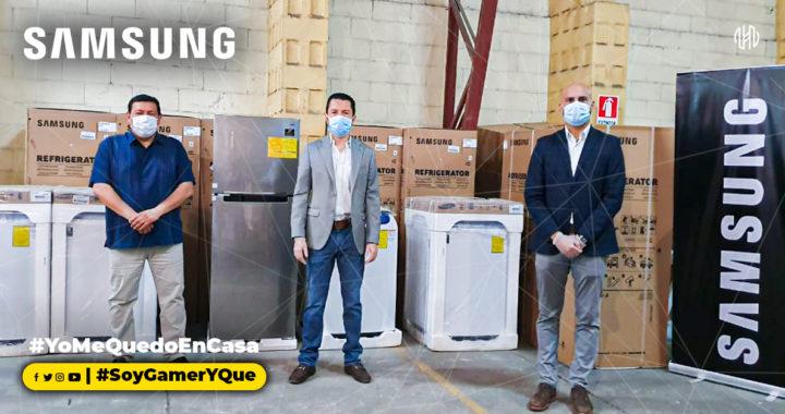 Samsung Electronics entrega donativo al Ministerio de Salud de El Salvador