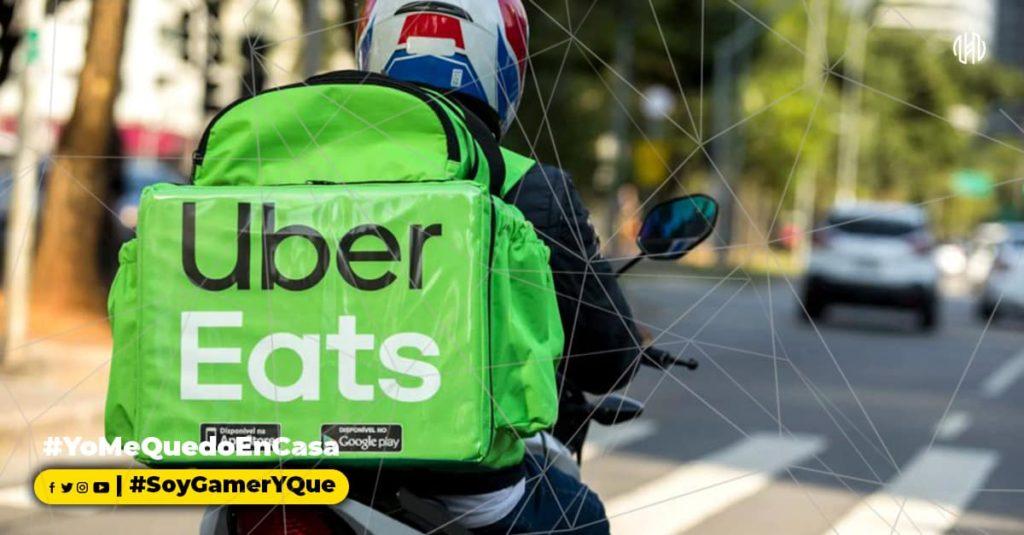 Uber Eats, Delivery, Servicio, Aplicación Movil , El Salavdor, prevención ,