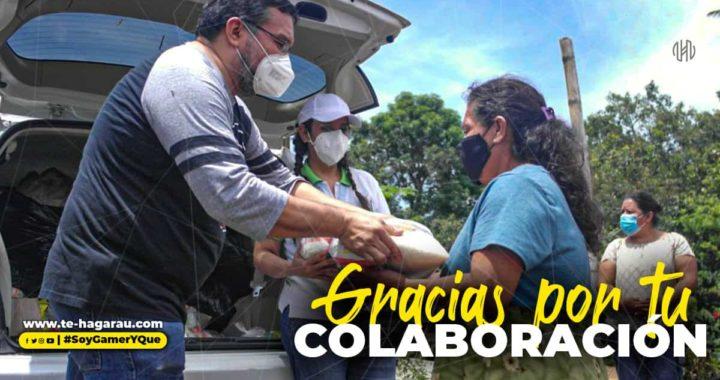 Medios digitales se unen para realizar entrega de víveres y ropas a familias afectadas por la tormenta Amanda y Cristóbal