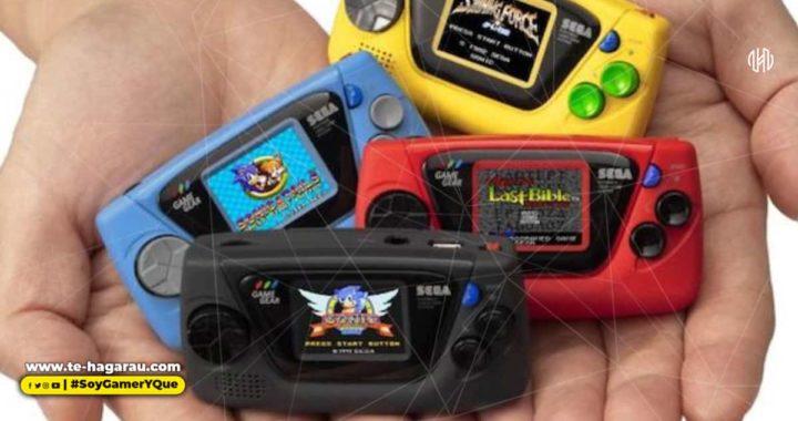 SEGA anuncia Game Gear Micro, saldrá para Japón este año