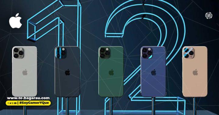Apple registra nueve celulares que corresponderían al iPhone 12