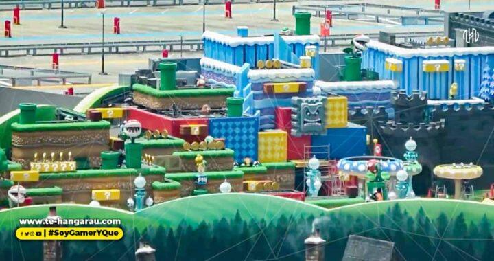 Por fin tenemos un vistazo completo de Super Nintendo World