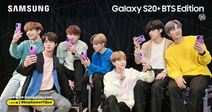 El nuevo Galaxy S20 BTS Edition ya está en El Salvador  con una promoción imperdible