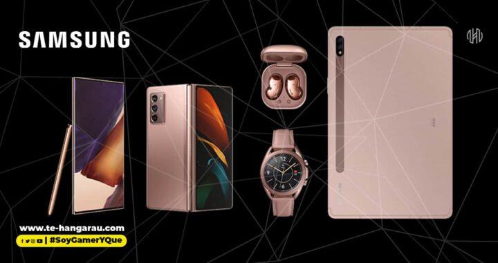 Samsung presenta cinco potentes dispositivos nuevos dentro del ecosistema Galaxy para empoderar el trabajo y el juego