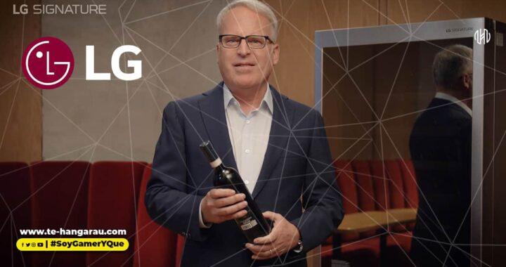 LG y el aclamado crítico del vino, james suckling, enseñan el arte de disfrutar del vino