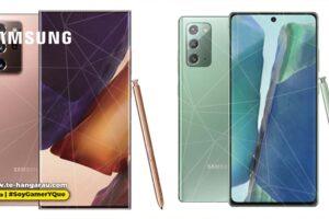Galaxy Note20 y Note20 Ultra, la línea Note más potente hasta el momento