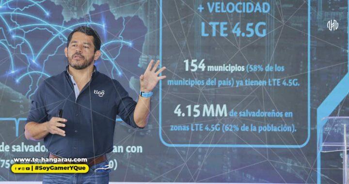 4.1 millones de salvadoreños ya pueden navegar 10 veces más rápido en red LTE 4.5G de Tigo