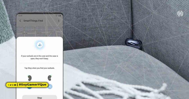 Si lo extravías, SmartThings Find te ayuda  a localizar tu Samsung