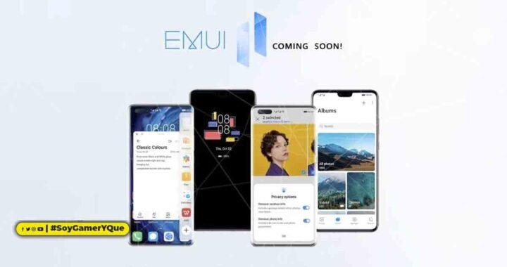 Huawei anuncia el calendario global de actualizaciones a EMUI 11