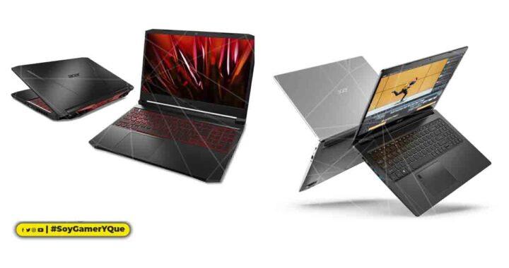 Acer presenta las notebooks Nitro y Aspire equipadas con los nuevos procesadores móviles AMD Ryzen serie 5000; las notebooks Nitro también cuentan con las nuevas GPU para laptop NVIDIA GeForce RTX 30 Series