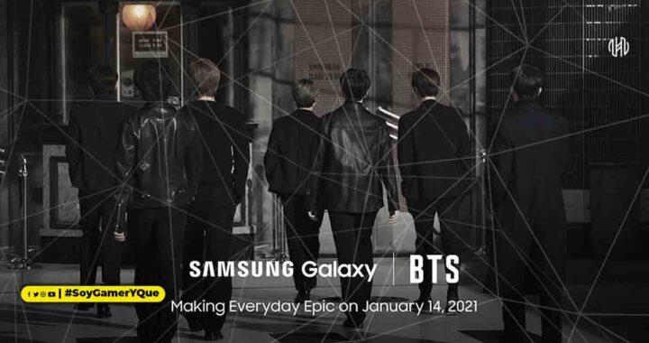 Haz que tu día a día sea épico con Galaxy y BTS