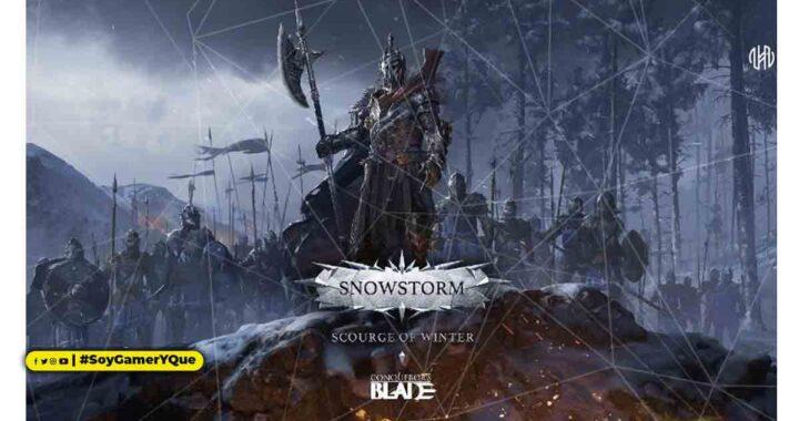 Reivindica el Norte en Ventisca: Azote del Invierno, la nueva actualización gratuita de Conqueror's Blade