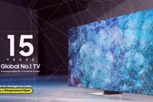 Samsung cumple 15 años como fabricante No. 1 de televisores a nivel mundial