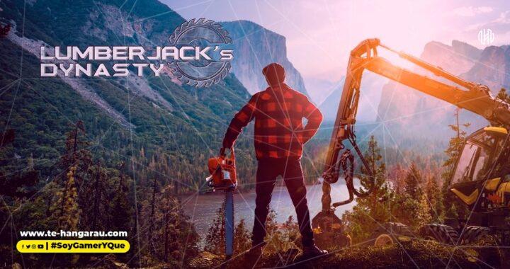 Vive la (no tan) tranquila vida de un leñador en Lumberjack's Dynasty