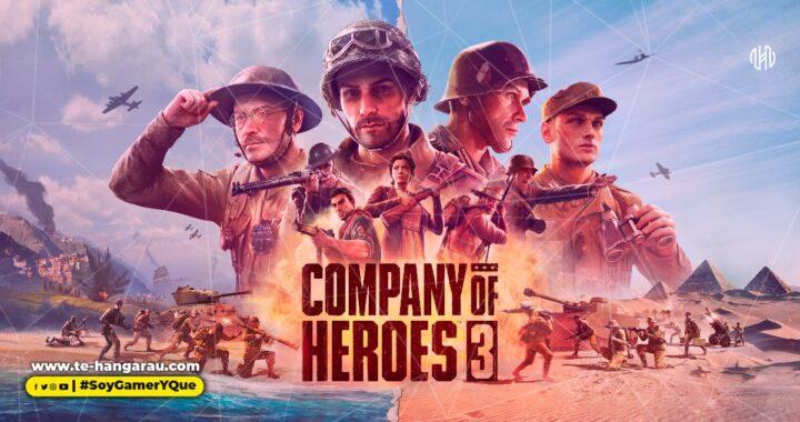 SEGA anuncia COMPANY OF HEROES 3