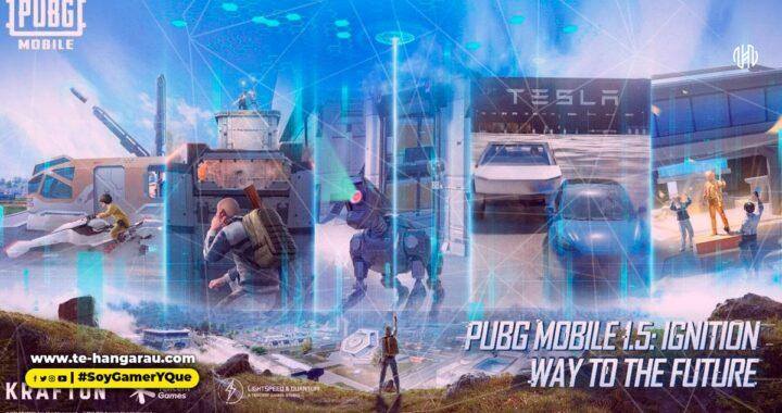 Llega la actualización 1.5 de PUBG MOBILE con un nuevo mapa de Erangel, una asociación con Tesla y más