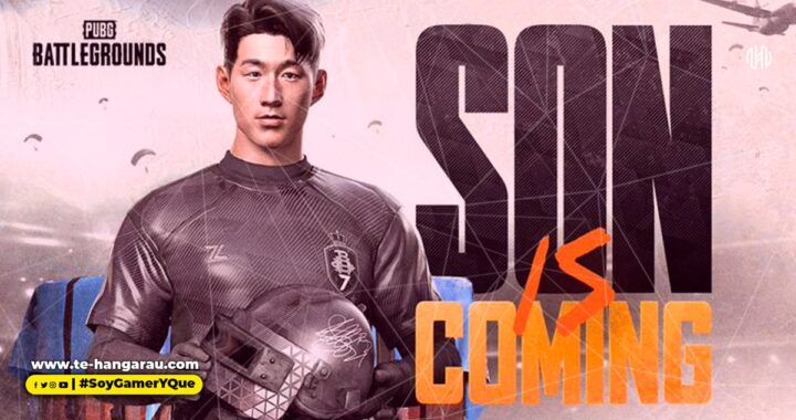 KRAFTON, INC. anuncia el skin de la estrella coreana de fútbol Son Heung-Min en PUBG: BATTLEGROUNDS