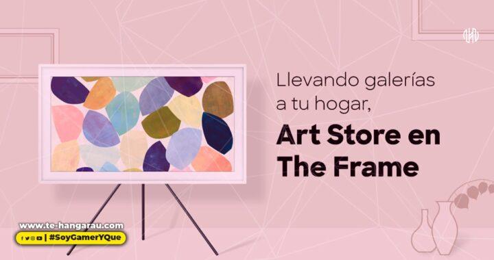 Art Store de Samsung en The Frame: cinco cosas que necesitas saber para disfrutar de obras pictóricas en la pantalla