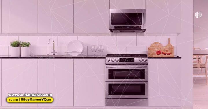 Elegante y funcional, así es la nueva cocina Slide-in FlexDuo de Samsung