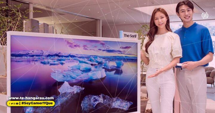 Samsung anuncia la versión de 65 pulgadas del televisor de estilo de vida The Serif
