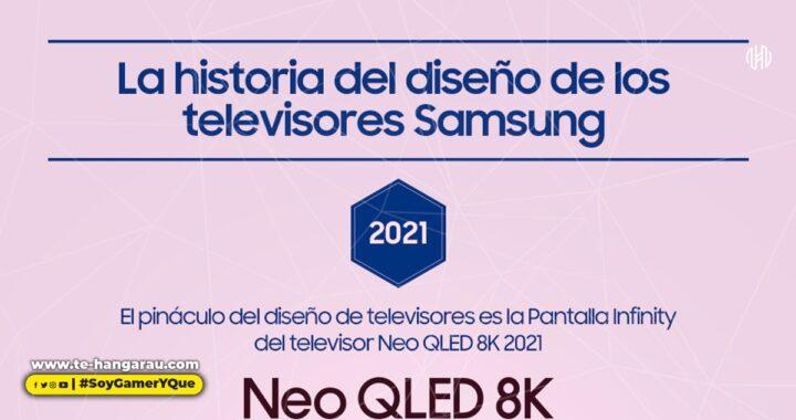 (INFOGRAFIA) Esta es la historia del innovador diseño de los televisores de Samsung