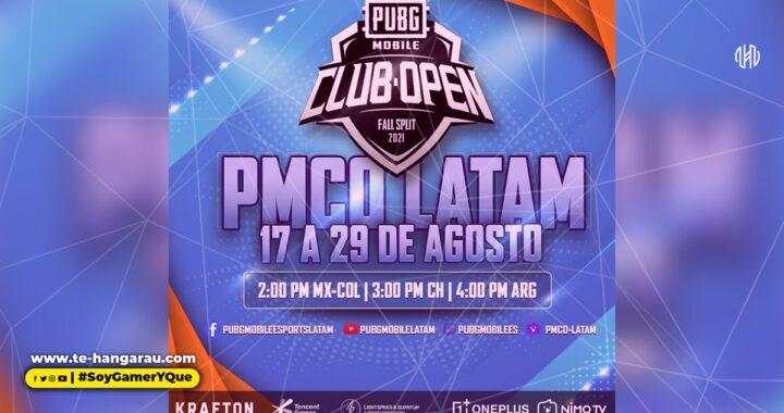El PUBG MOBILE Club Open (PMCO) Fall Split 2021 comienza con grandes premios para América Latina